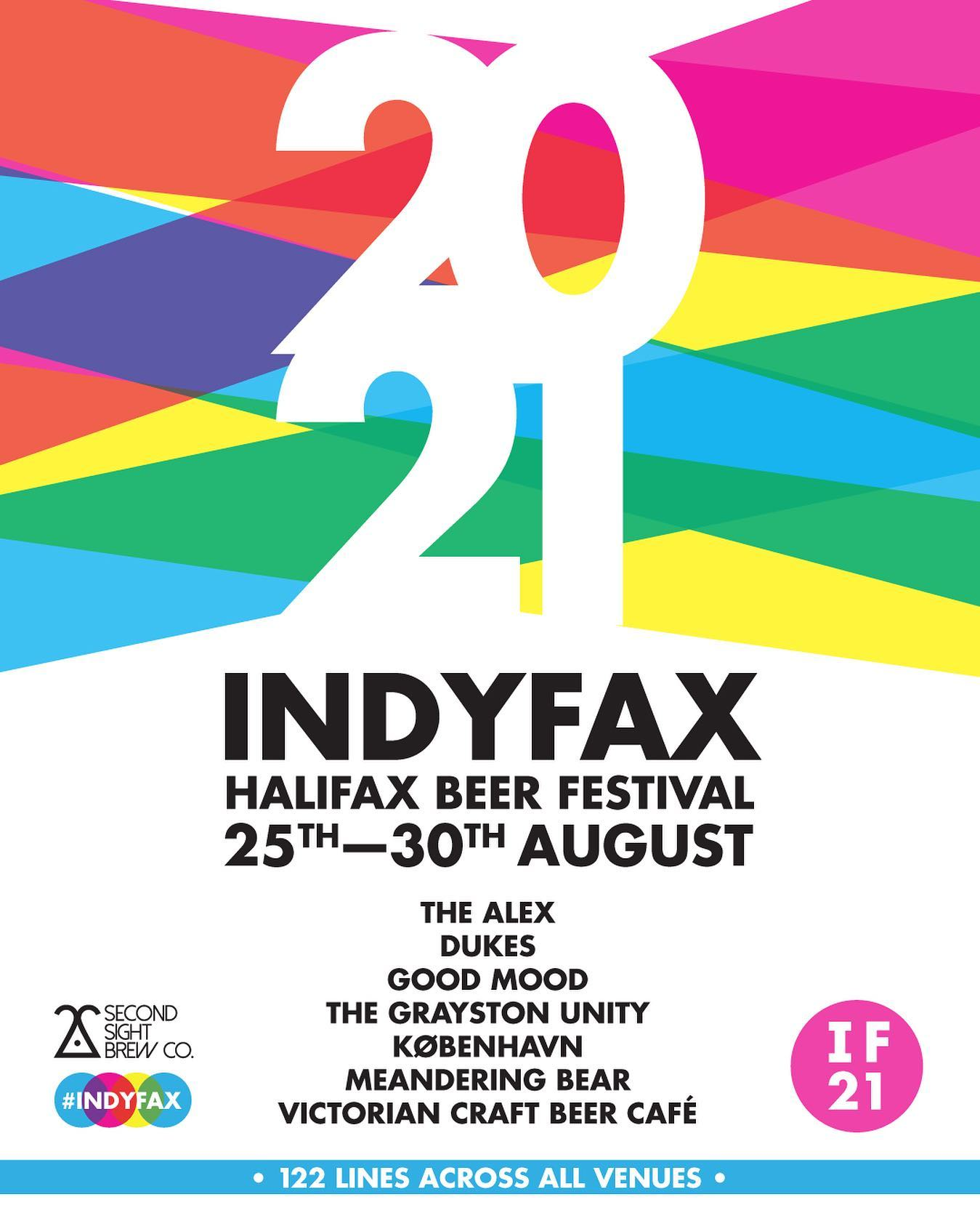 Indyfax 2021 Poster